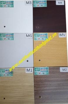 Bảng mầu gỗ nội thất 190